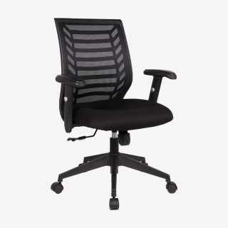 Vue de trois-quarts du fauteuil REVAN