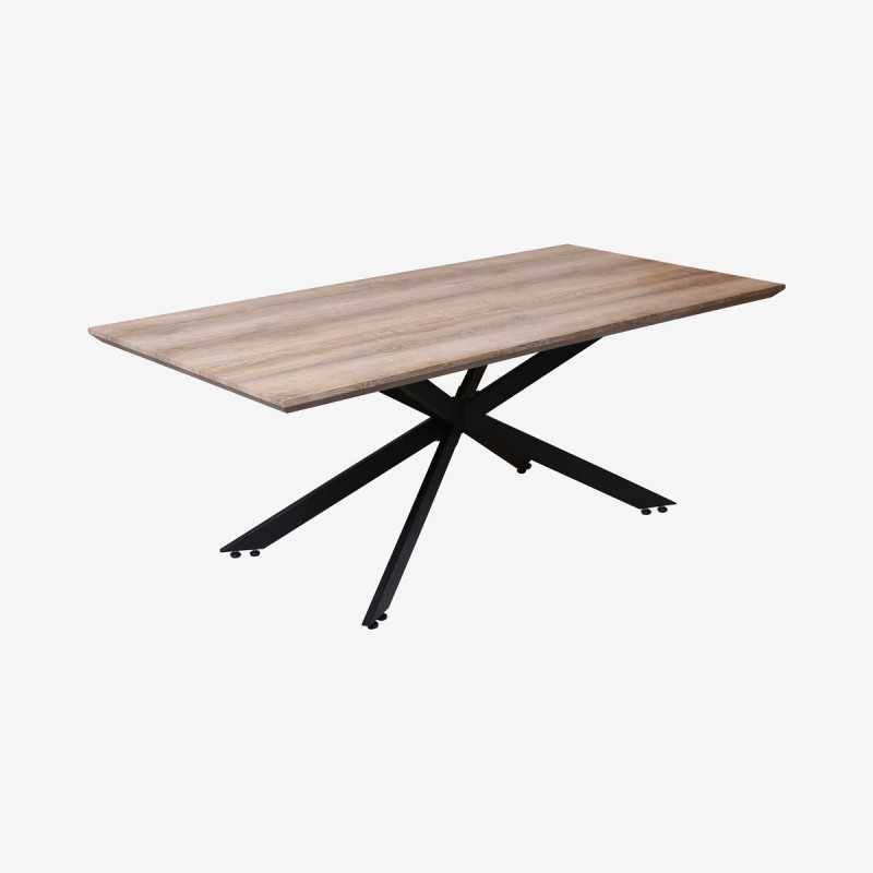 Vue de trois-quarts de la table RISAL