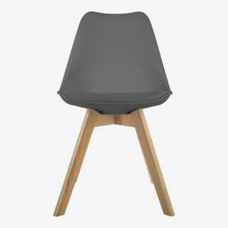 Vue de face de la chaise JAYA
