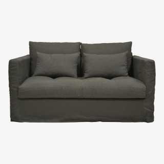 Vue de face du canapé PADDY