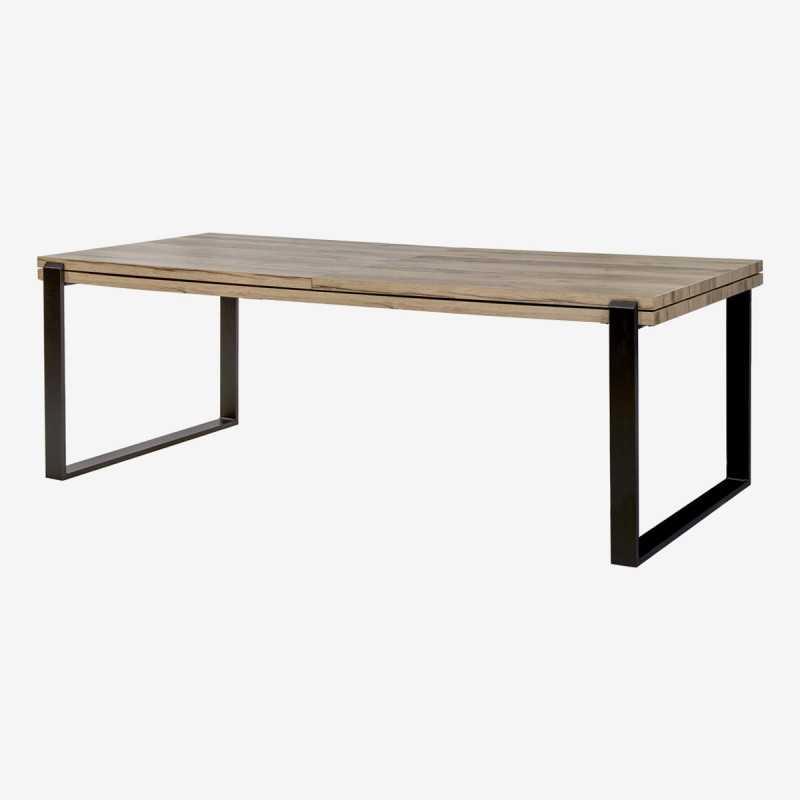 Vue de trois-quarts de la table EVANI
