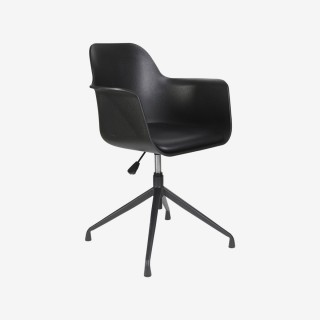 Vue de trois-quarts du fauteuil de bureau DETROIT
