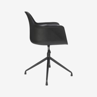 Vue de profil du fauteuil de bureau DETROIT