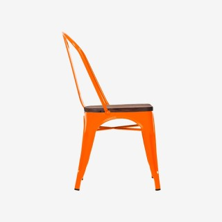 Vue de profil de la chaise ROSARIO