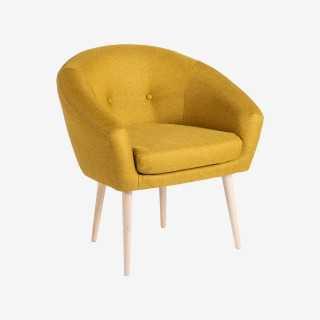 Vue de trois-quarts du fauteuil AVANT
