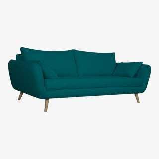 Vue de trois-quarts du canapé OASIS