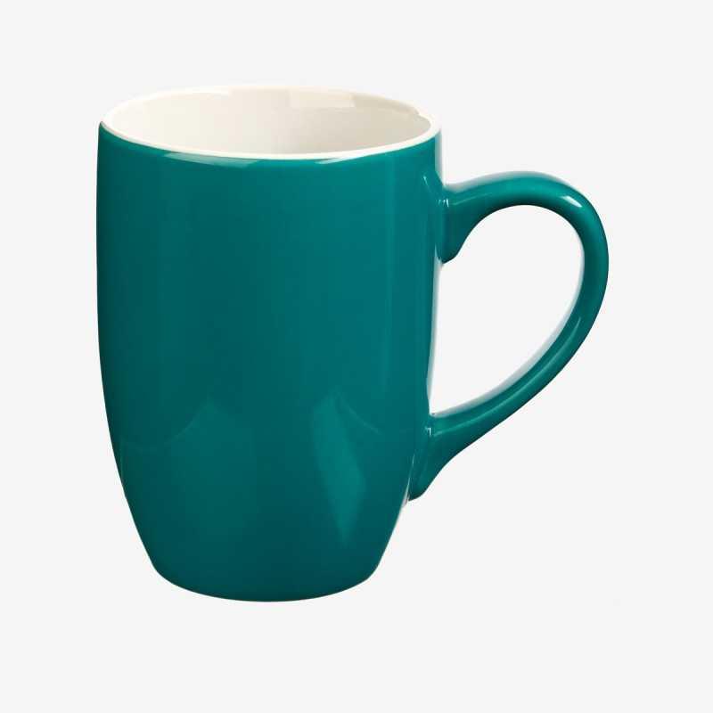 Vue de face du mug COLORAMA bleu