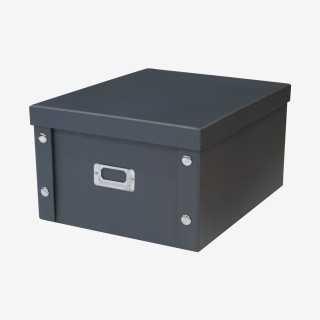 Vue de face de la boîte de rangement ELMO