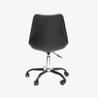 Vue de dos de la chaise de bureau CALIX