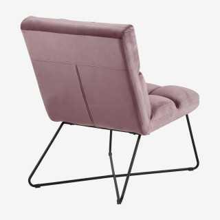 Vue de dos de la chaise longue ALICIA