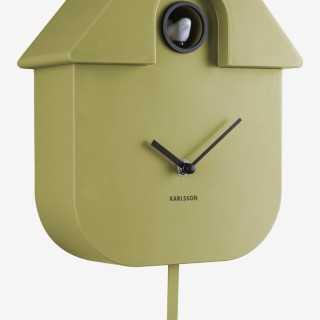 Vue détaillée de l'horloge CUCKOO
