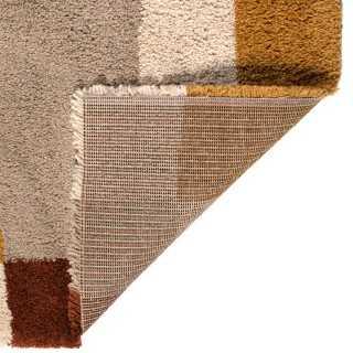 Vue détaillée du tapis TAHINA