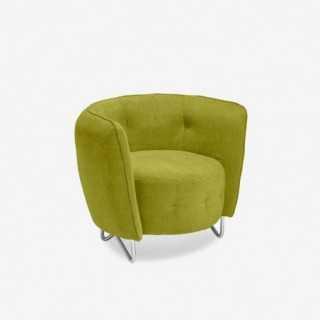 Vue de trois-quarts du fauteuil SION