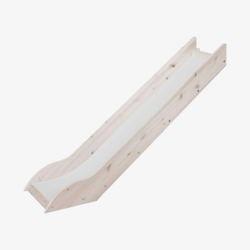Vue de face du toboggan pour lit surélevé H120 cm