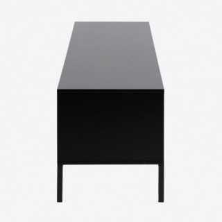 Vue de profil du meuble TV ALIBA avec tiroirs
