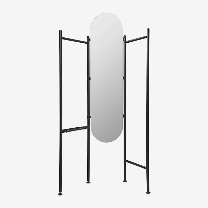 Vue de face du miroir-valet FLOOR