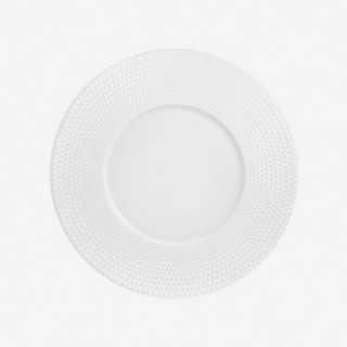 Vue de face de l'assiette plate NYMPHEA