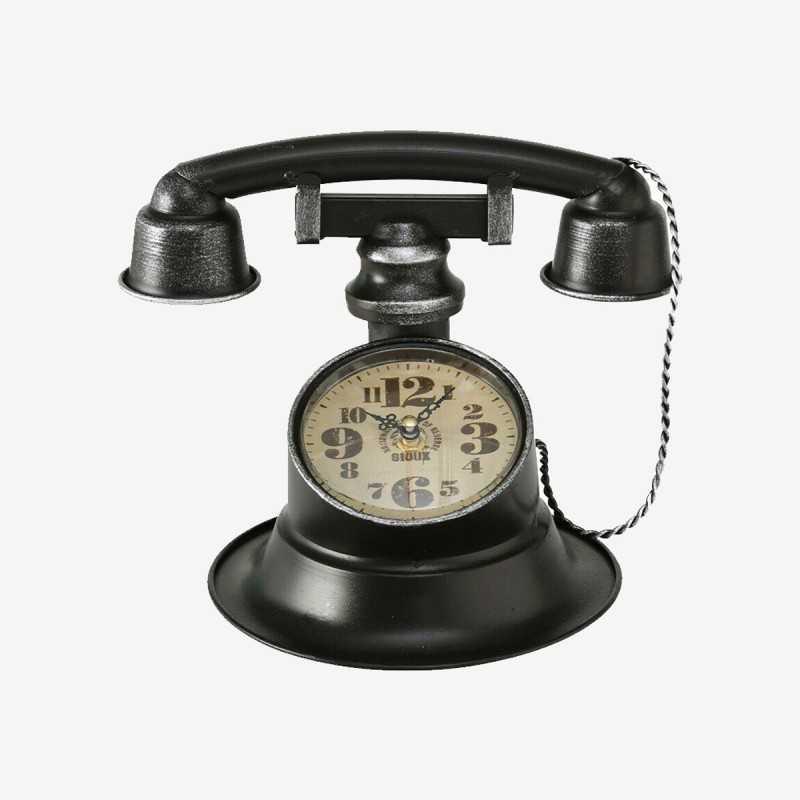Vue de face de l'horloge TELEFON