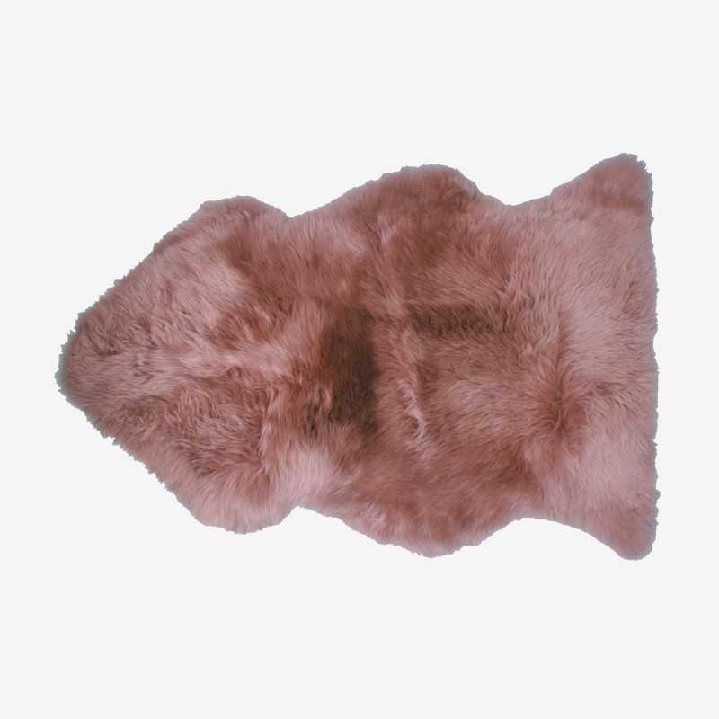 Vue de face de la peau de mouton SIBERIE