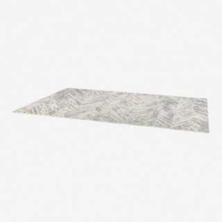 Vue de trois-quarts du tapis EVORA