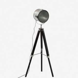 Vue de trois-quarts du lampadaire PROJO