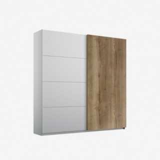 Vue de trois-quarts de l'armoire coulisante HALIFAX