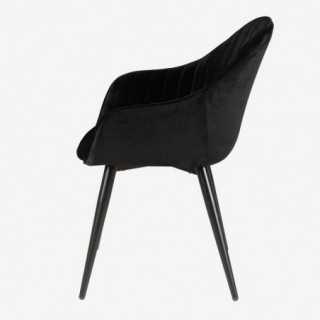 Vue de profil du fauteuil CARMEN