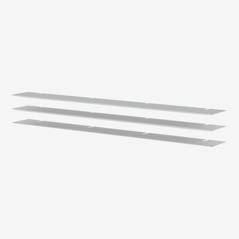 Vue de trois-quarts du jeu de 3 tablettes 224 BRIDGE