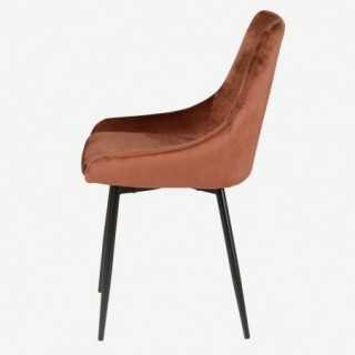 Vue de profil de la chaise CARMEN