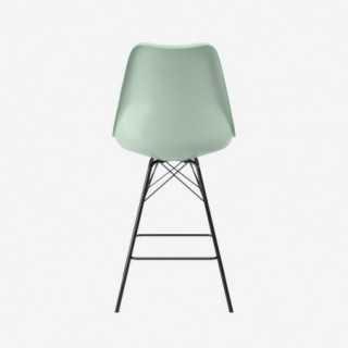 Vue de dos de la chaise ALLY avec pied PORGY