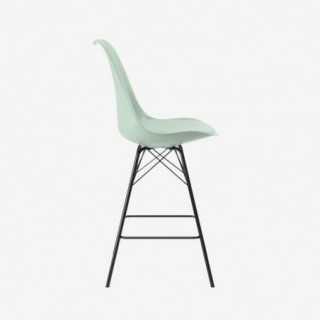 Vue de profil de la chaise ALLY avec pied PORGY