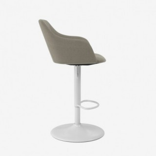 Vue de profil de la chaise ALLY avec pied TRUMPET