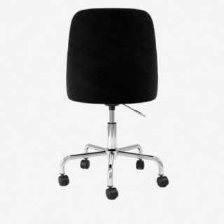 Vue de dos de la chaise ALLY avec pied MIMI
