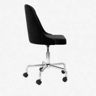 Vue de profil de la chaise ALLY avec pied MIMI