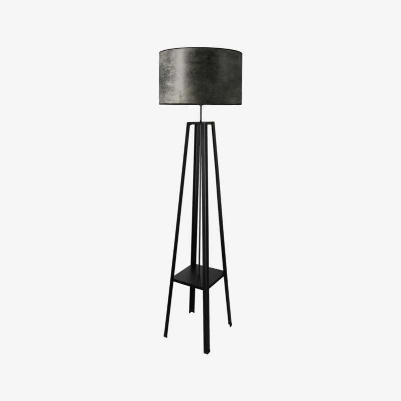 Vue de face du lampadaire ATELIER
