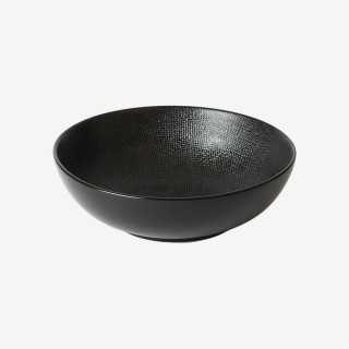 Vue de face du saladier VEZUVIO