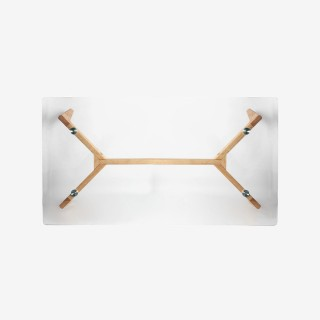 Vue du dessous de la table basse CABARI