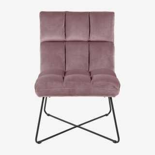 Vue de face de la chaise longue ALICIA
