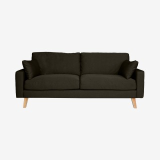 Vue de face du canapé fixe STOCKHOLM