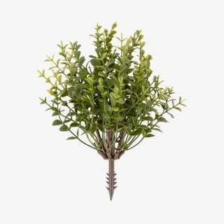 Vue de face de la plante artificielle EUCALYPTUS PM