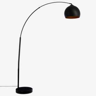 Vue de face du lampadaire ARC