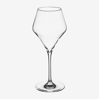 Vue de face du verre à eau CLARILLO