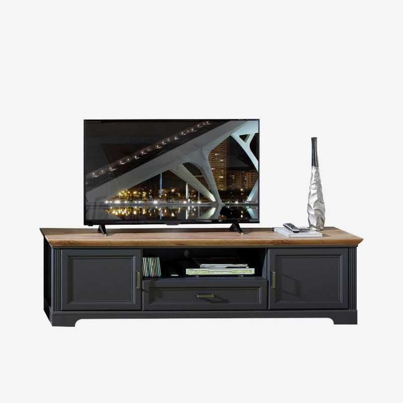 Vue de face du meuble TV NORTON