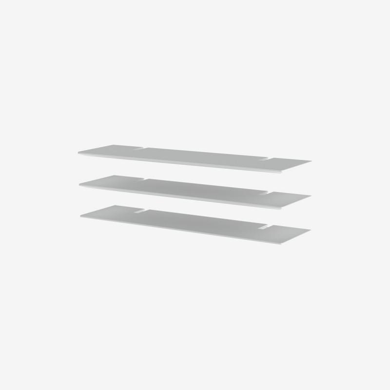 Vue de trois-quarts du jeu de 3 tablettes 99 BRIDGE