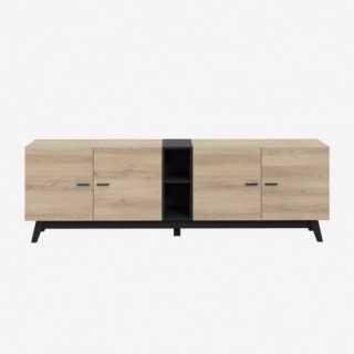 Vue de face du meuble TV FAREA