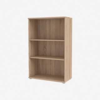 Vue de trois-quarts de l'étagère BOBOOK