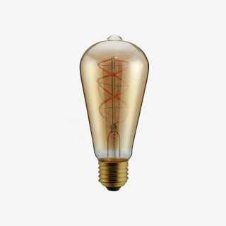 Vue de face de l'ampoule TORSA