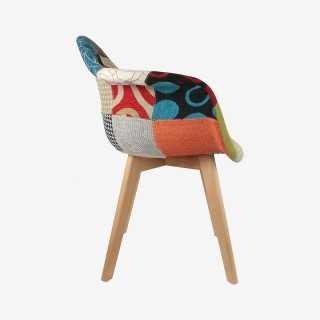 Vue de profil du fauteuil SCANDI