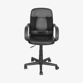 Vue de face de la chaise de bureau DANNO