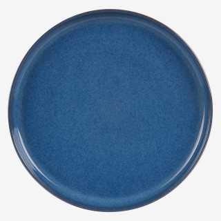Vue de face de l'assiette plate KOBALT